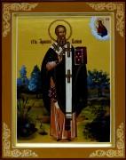 Рукописная икона Афанасий Великий 2