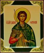 Рукописная икона Дмитрий (Димитрий) Солунский 3