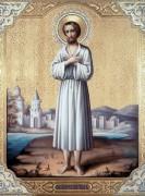Рукописная икона Святой Алексий Человек Божий