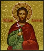 Рукописная икона Диомид Кесарийский 2