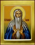 Рукописная икона Макарий Великий 2