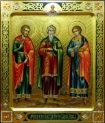 Рукописная икона Гурий Самон Авив 2
