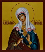 Рукописная икона Виктория Никомидийская