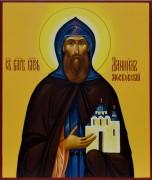 Рукописная икона Даниил Московский под старину