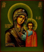 Рукописная Казанская икона под старину 10
