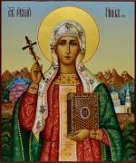 Рукописная икона Нина Равноапостольная 3
