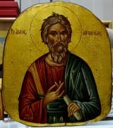 Греческая рукописная икона Андрей Первозванный