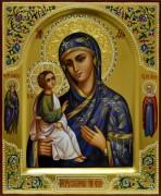 Рукописная икона Иерусалимская с Предстоящими 2