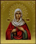 Рукописная икона Иоанна Мироносица 2