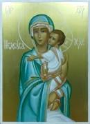 Рукописная икона Елеуса