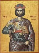 Рукописная икона Святой Анастасий Персянин