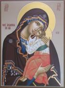 Рукописная икона Ярославская 2