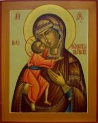 Рукописная Феодоровская икона под старину 5