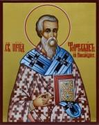 Рукописная икона Феофилакт Никомидийский
