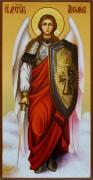 Рукописная икона Архангел Михаил 7