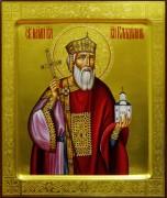 Рукописная икона Владимир Равноапостольный 4