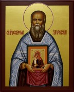 Рукописная икона Серафим Загоровский