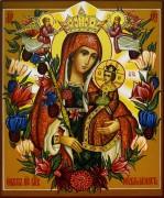 Рукописная икона Неувядаемый Цвет 17