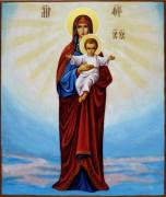 Рукописная икона Костомаровская