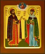 Рукописная икона Петр и Феврония 58