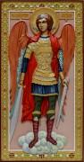 Резная икона Архангел Михаил 4
