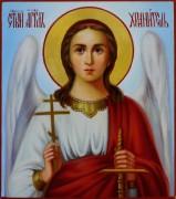 Рукописная икона Ангел Хранитель масло 24