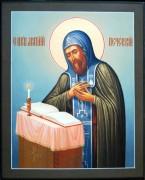 Рукописная икона Святой Анатолий Печерский