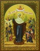 Рукописная икона Всех скорбящих радость 5