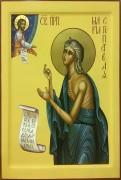 Рукописная икона Мария Египетская 4