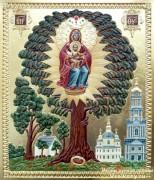 Рукописная икона Елецкая Харьковская