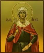 Рукописная икона Святая Анисия Солунская