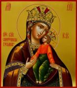 Рукописная икона Споручница грешных 3
