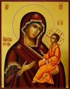 Рукописная икона Лиддская 2