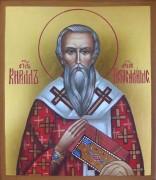 Рукописная икона Кирилл Иерусалимский
