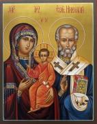 Рукописная икона Оковецкая Ржевская