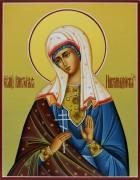 Рукописная икона Виктория Никомидийская (Размер 22*28 см)