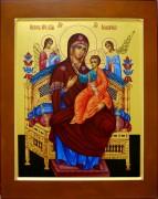 Рукописная икона Всецарица храмовая икона