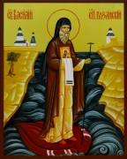 Рукописная икона Василий Рязанский