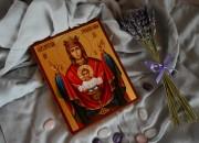 Рукописная икона Неупиваемая Чаша 5