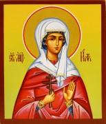 Рукописная икона Евдокия Ия Римляныня
