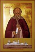 Рукописная икона Святой Антоний Сийский