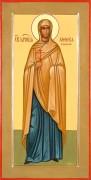 Рукописная икона Святая Анфиса мученица Римская
