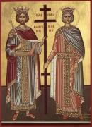 Святым равноапостольным Константину и Елене