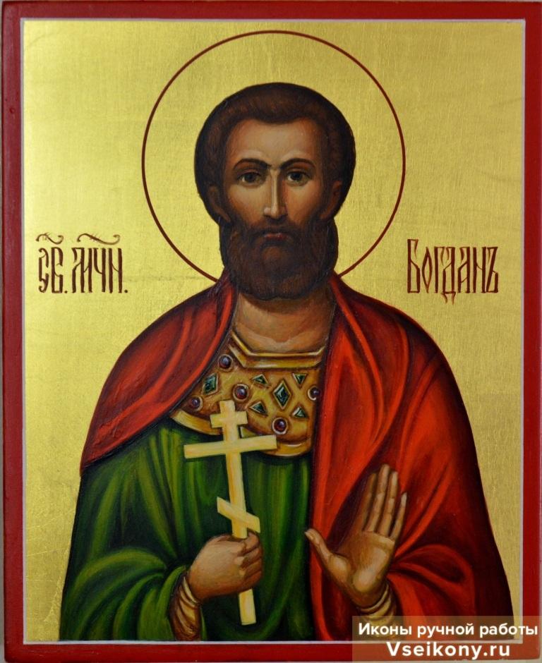 красные икона святого богдана фото семь