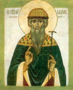 Рукописная икона Вадим Персидский