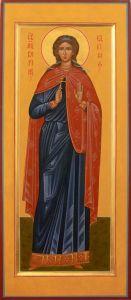 Рукописная икона Вероника Едесская