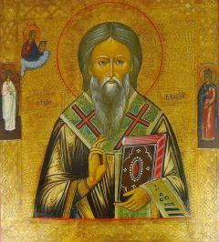 Рукописная икона Власий Севастийский