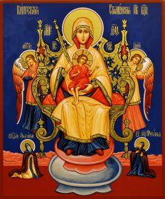 Рукописная икона Кипрская Стромынская