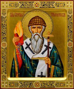 Рукописная икона Спиридон Тримифунтский 16