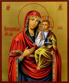 Рукописная икона Перекопская